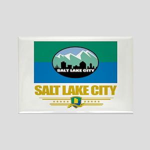 Salt Lake City Pride Rectangle Magnet