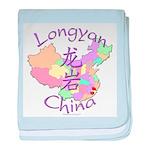 Longyan China baby blanket