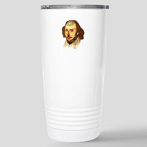 Modern Shakespeare Stainless Steel Travel Mug
