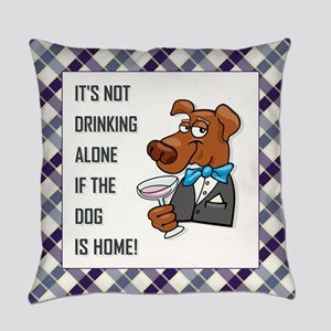 IT'S NOT DRINKING... Everyday Pillow