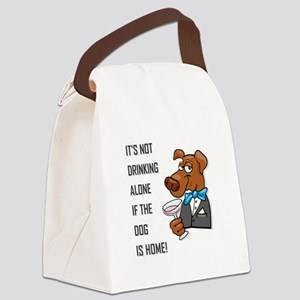 IT'S NOT DRINKING... Canvas Lunch Bag