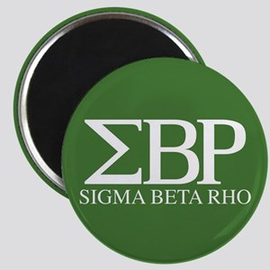 Sigma Beta Rho Fraternity Letters and Name Magnet