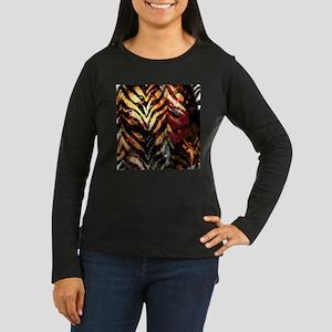 HOT MESS Women's Long Sleeve Dark T-Shirt