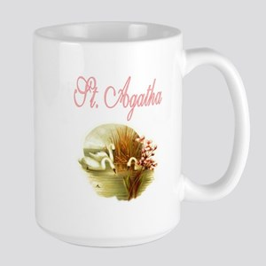 St. Agatha - Patron Saint for Large Mug