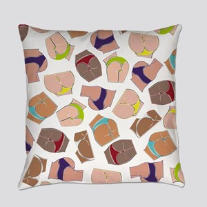 Illustration Pattern DAT ASS Everyday Pillow