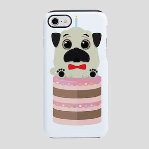 Birthday Pug iPhone 7 Tough Case
