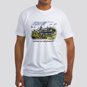 Lol Painting On Front Fitted T-Shirt