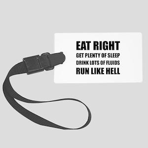 Run Like Hell Luggage Tag