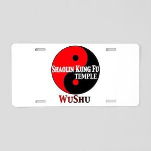 wushu Aluminum License Plate