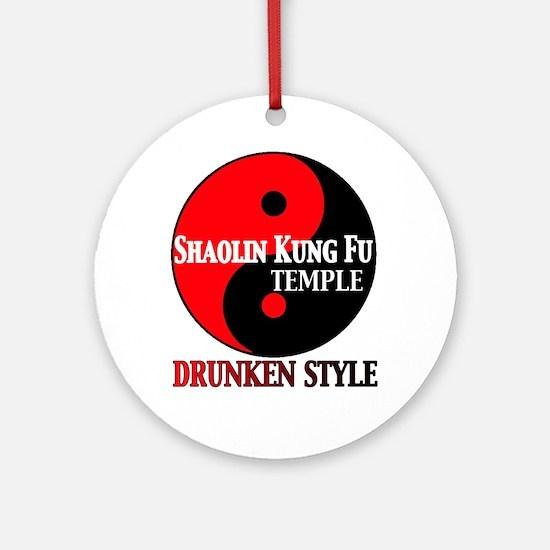 Drunken style Ornament (Round)