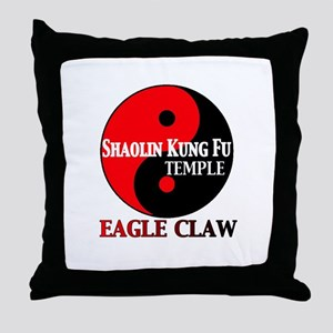 Eagle Claw Throw Pillow