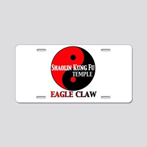 Eagle Claw Aluminum License Plate