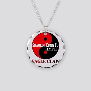 Eagle Claw Necklace Circle Charm