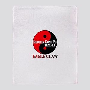 Eagle Claw Throw Blanket