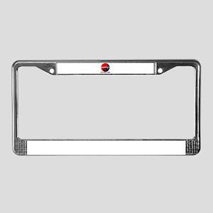 Instructor License Plate Frame