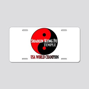 USA World Champs Aluminum License Plate