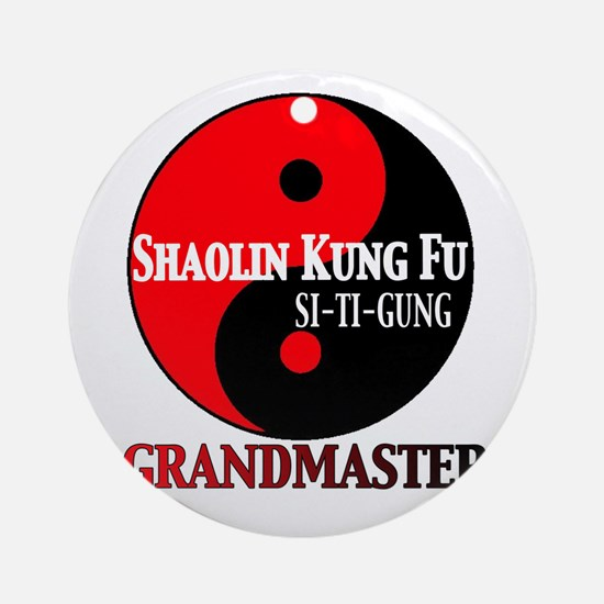 Grandmaster Ornament (Round)