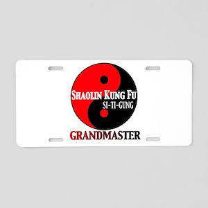 Grandmaster Aluminum License Plate