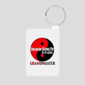Grandmaster Aluminum Photo Keychain