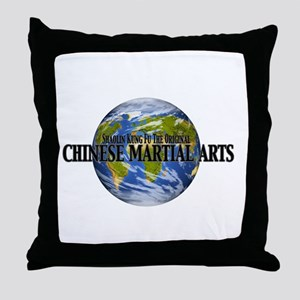 World of Martial Arts Throw Pillow