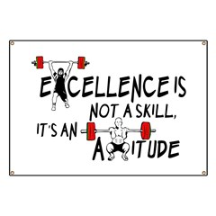 Excellence is an Attitude Banner