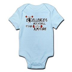 Excellence is an Attitude Infant Bodysuit