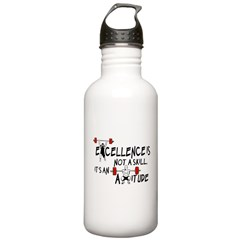 Excellence is an Attitude Water Bottle