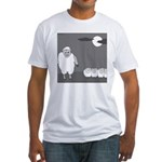Werewolf in Sheep's Clothing (no text) Fitted T-Sh