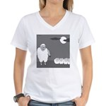 Werewolf in Sheep's Clothing (no text) Women's V-N