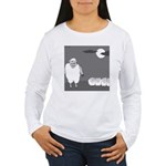 Werewolf in Sheep's Clothing (no text) Women's Lon