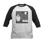 Werewolf in Sheep's Clothing (no text) Kids Baseba