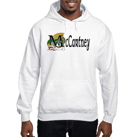 McCartney Celtic Dragon Hooded Sweatshirt