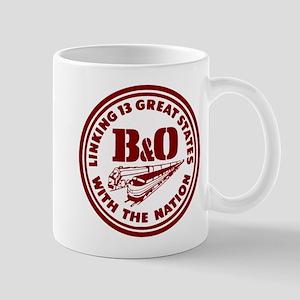 B&O 13 states logo Mugs