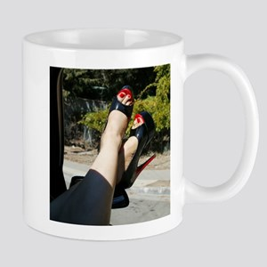 Vinyl Queen's Feet Mug