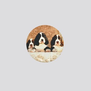 English Springer Pups 2 Mini Button
