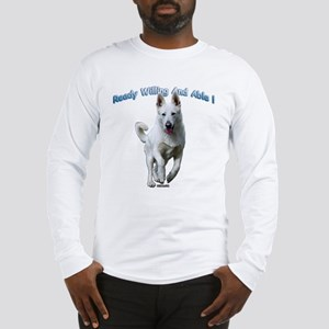 White German Shepherds Rock Long Sleeve T-Shirt