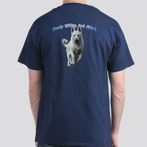 White German Shepherds Rock Dark T-Shirt
