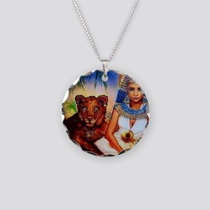 Best Seller Egyptian Necklace Circle Charm