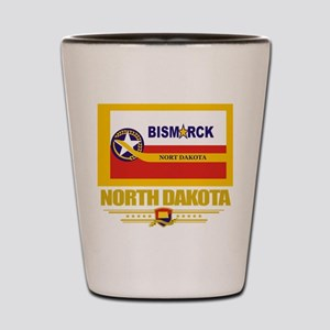 Bismarck Pride Shot Glass