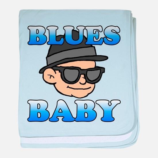 Blues Baby Shirt baby blanket