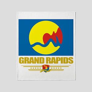 Grand Rapids Pride Throw Blanket