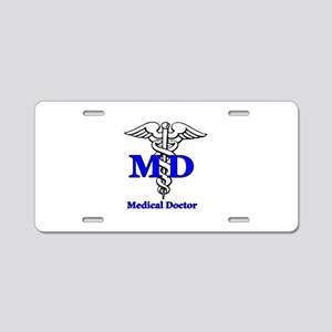 Doctor Aluminum License Plate