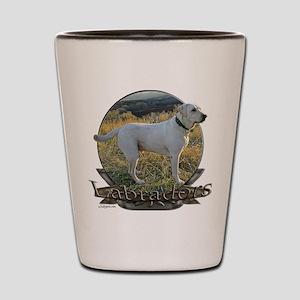 Labradors Shot Glass