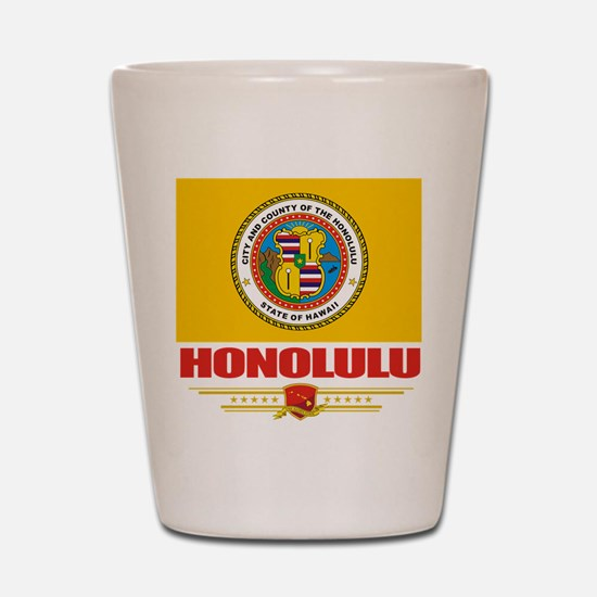 Honolulu Pride Shot Glass