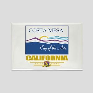 Costa Mesa Pride Rectangle Magnet