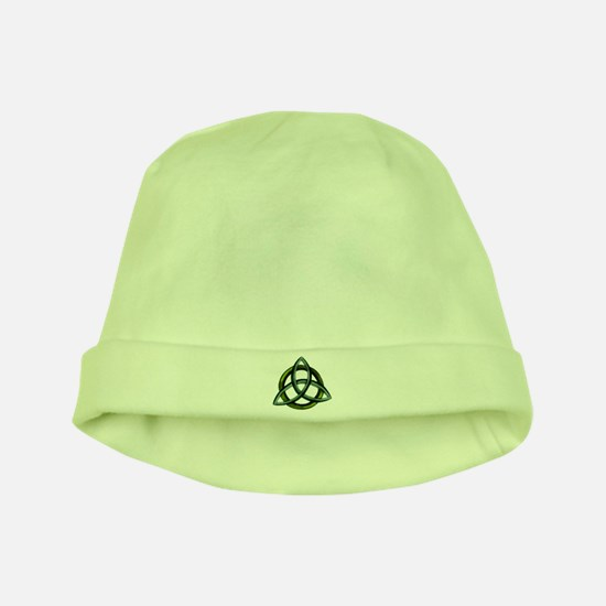 Triquetra Green baby hat