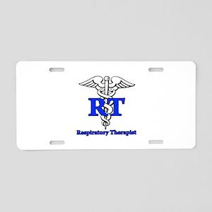 Respiratory Therapist Aluminum License Plate