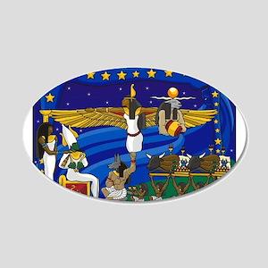 Best Seller Egyptian 22x14 Oval Wall Peel