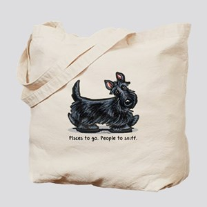 Scottie Places Tote Bag