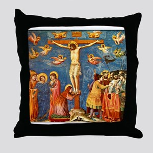 Giotto The Crucifixion Throw Pillow